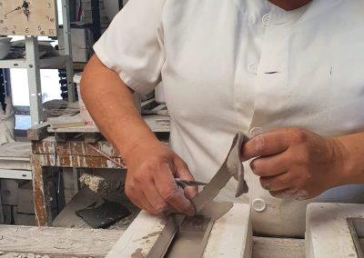 Trabajadora de la cerámica
